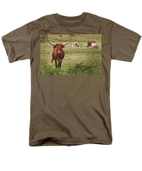 Men's T-Shirt  (Regular Fit) featuring the photograph Are You Talking To Me by Tamyra Ayles