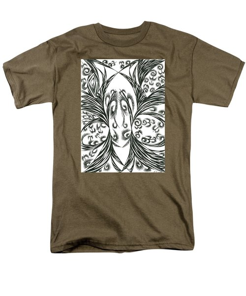 Men's T-Shirt  (Regular Fit) featuring the drawing Argos by Robert Nickologianis