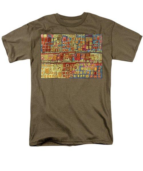 Ariel View Men's T-Shirt  (Regular Fit) by Sandra Church