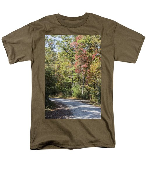 Around The Bend Men's T-Shirt  (Regular Fit) by Ricky Dean