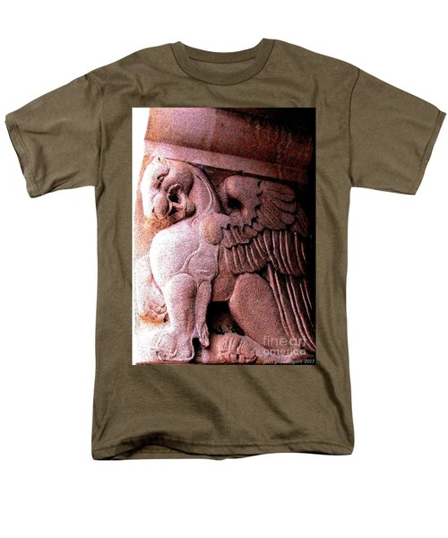 Men's T-Shirt  (Regular Fit) featuring the photograph Art Deco Griffin Circa 1925 by Peter Gumaer Ogden