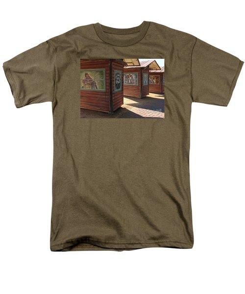 Art Shacks Old Town Men's T-Shirt  (Regular Fit) by Cheryl Del Toro