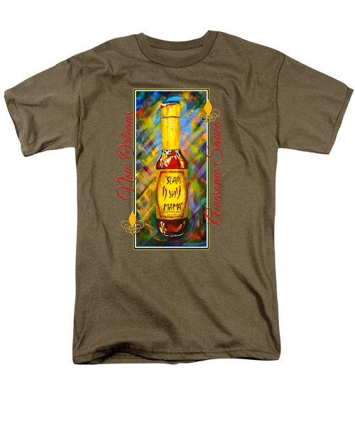 Awesome Sauce - Slap Ya Mama Men's T-Shirt  (Regular Fit)