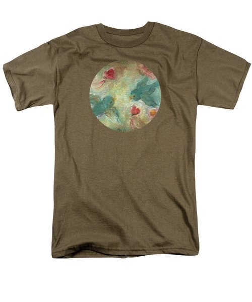 Lovebirds Men's T-Shirt  (Regular Fit) by Mary Wolf