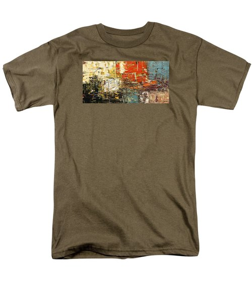 Men's T-Shirt  (Regular Fit) featuring the painting Artylicious by Carmen Guedez