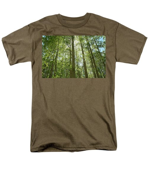 Aspen Green Men's T-Shirt  (Regular Fit) by Eric Glaser