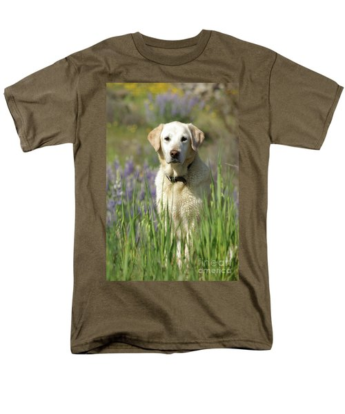 Men's T-Shirt  (Regular Fit) featuring the photograph At Attention by Jim and Emily Bush