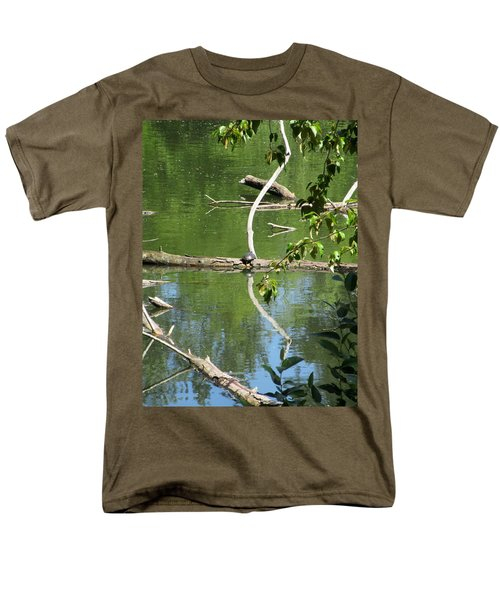 Men's T-Shirt  (Regular Fit) featuring the photograph At The Crossroads by Marie Neder