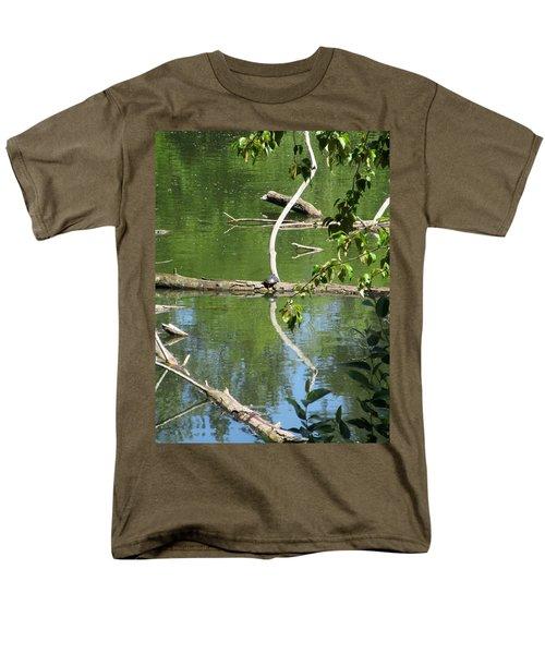 At The Crossroads Men's T-Shirt  (Regular Fit)