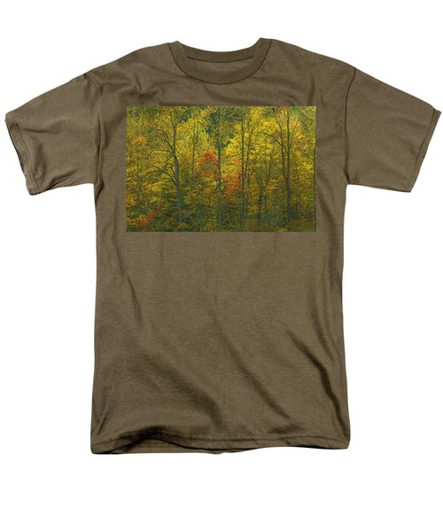 At The Edge Of The Forest Men's T-Shirt  (Regular Fit) by Ulrich Burkhalter