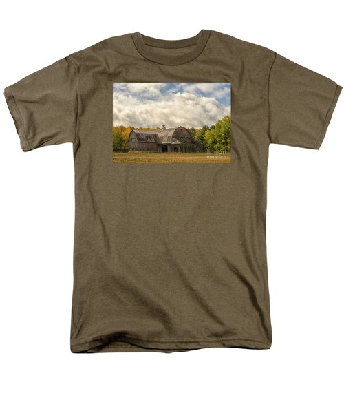 Men's T-Shirt  (Regular Fit) featuring the photograph At The Edge Of The Medow by JRP Photography