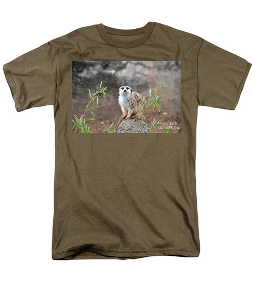 Men's T-Shirt  (Regular Fit) featuring the photograph At The Watch by John Black