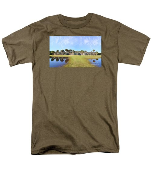Atalaya Castle At Huntington Men's T-Shirt  (Regular Fit) by Kathy Baccari