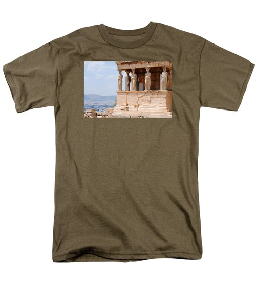 Men's T-Shirt  (Regular Fit) featuring the photograph Erecthion by Robert Moss