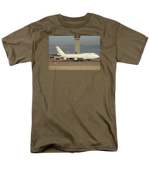 Atlas Air Boeing 747-45e-sf N473mc Phoenix Sky Harbor December 20 2015  Men's T-Shirt  (Regular Fit) by Brian Lockett