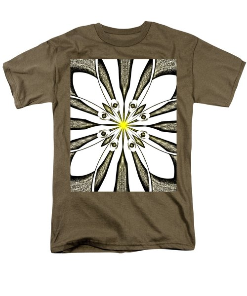 Atomic Lotus No. 3 Men's T-Shirt  (Regular Fit) by Bob Wall