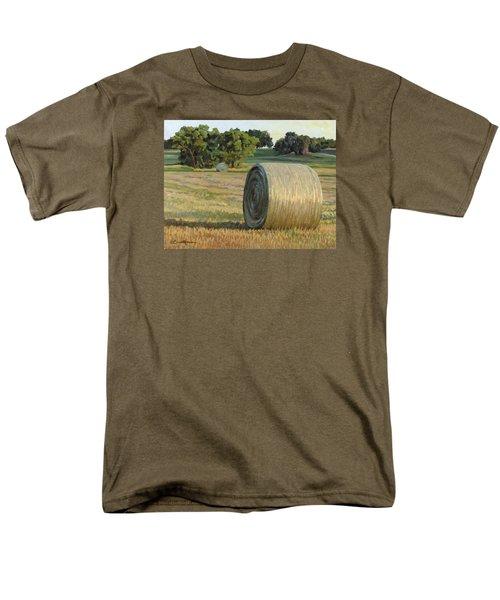 August Bales Men's T-Shirt  (Regular Fit) by Bruce Morrison