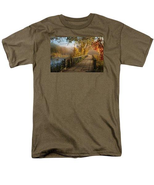 Autumn Emerging Men's T-Shirt  (Regular Fit) by Rob Blair