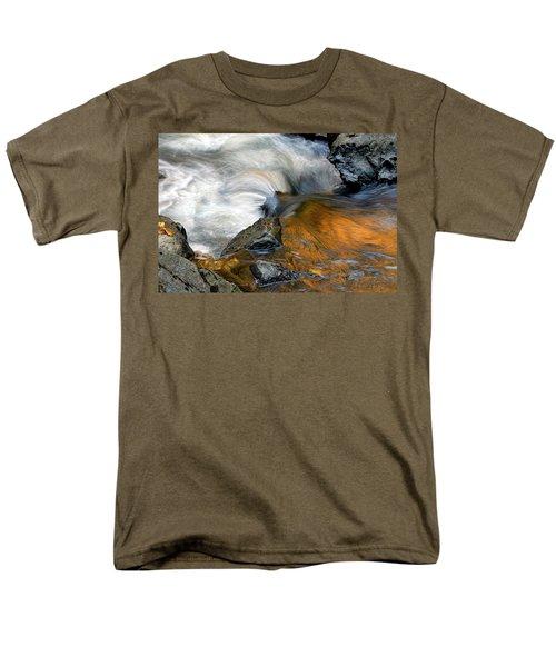 Autumn Flow Men's T-Shirt  (Regular Fit) by Dave Mills