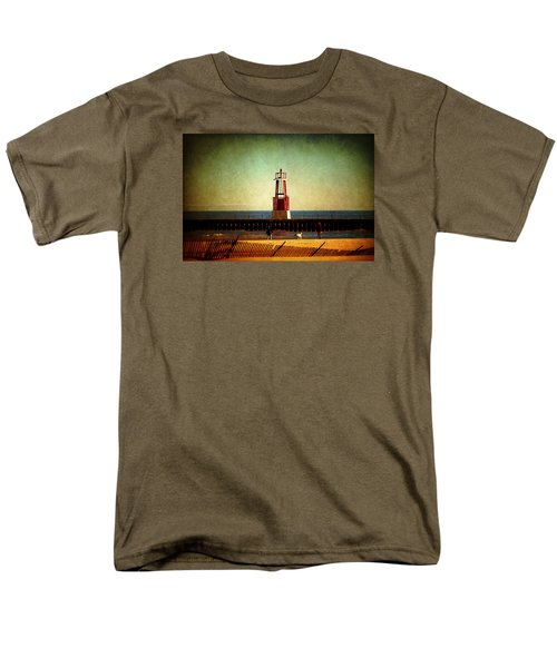 Autumn Fun In Chicago Men's T-Shirt  (Regular Fit) by Milena Ilieva