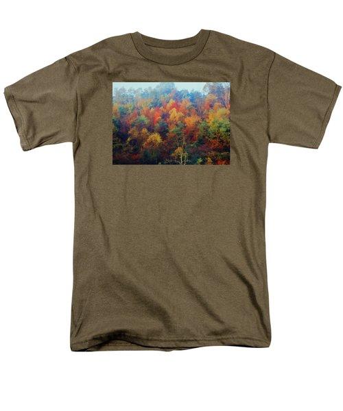 Autumn Hill Aglow Men's T-Shirt  (Regular Fit) by Diane Alexander