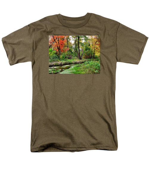Autumn In Bloom Men's T-Shirt  (Regular Fit) by Mikki Cucuzzo