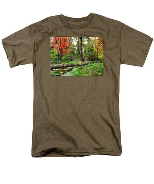 Autumn In Bloom Men's T-Shirt  (Regular Fit)