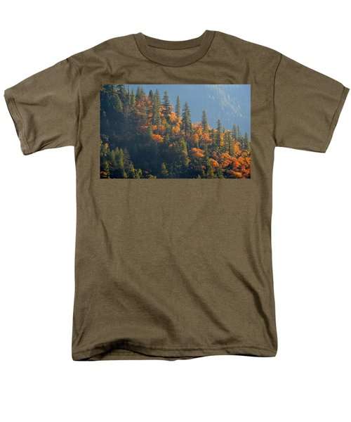 Autumn In The Feather River Canyon Men's T-Shirt  (Regular Fit) by AJ Schibig