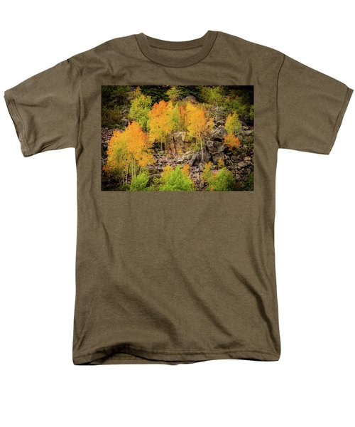 Autumn In The Uinta Mountains Men's T-Shirt  (Regular Fit)