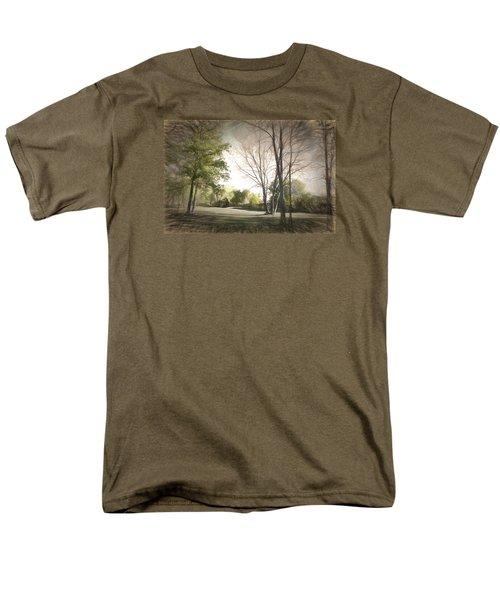 Autumn Landscape Men's T-Shirt  (Regular Fit) by Rena Trepanier