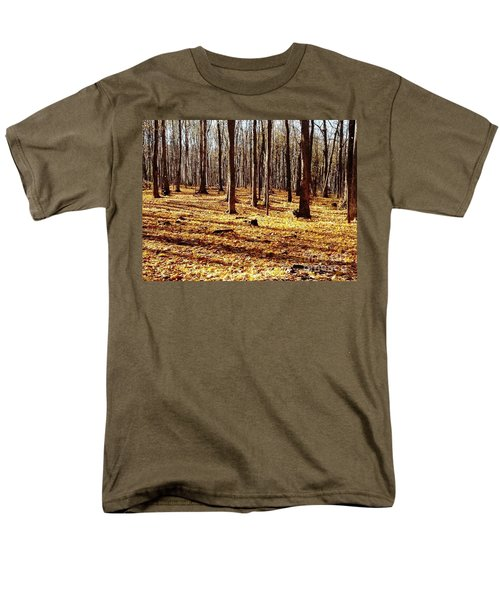 Autumn Leaves Men's T-Shirt  (Regular Fit) by Vicky Tarcau