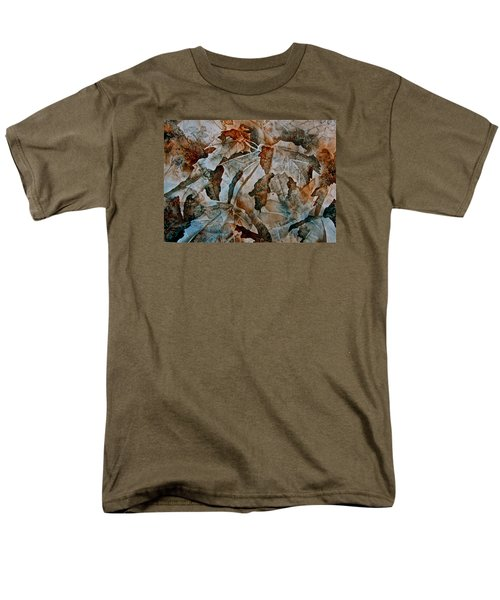 Men's T-Shirt  (Regular Fit) featuring the painting Autumn Patterns by Carolyn Rosenberger