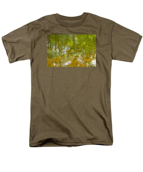 Autumn Reflections Men's T-Shirt  (Regular Fit) by Wanda Krack
