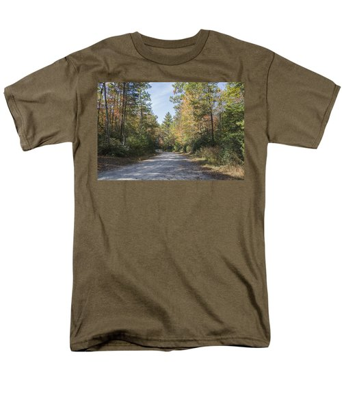 Autumn Road Men's T-Shirt  (Regular Fit) by Ricky Dean