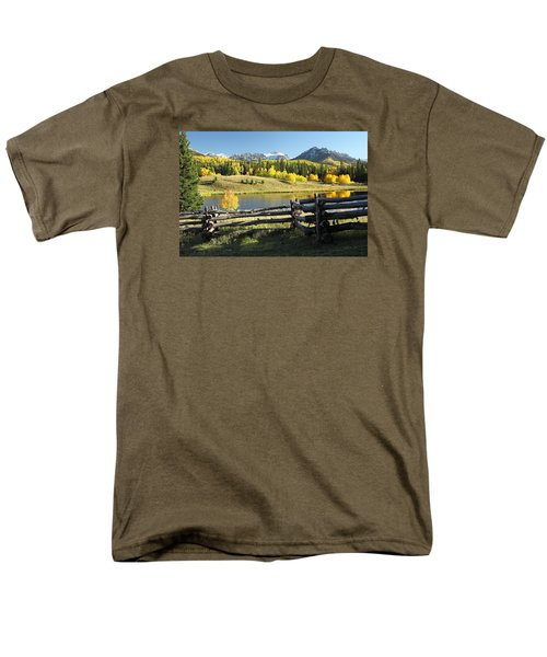 Autumn Serenade Men's T-Shirt  (Regular Fit) by Eric Glaser
