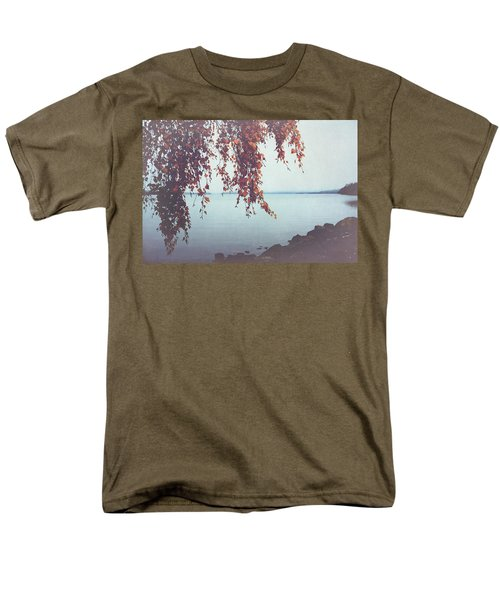 Men's T-Shirt  (Regular Fit) featuring the photograph Autumn Shore by Ari Salmela