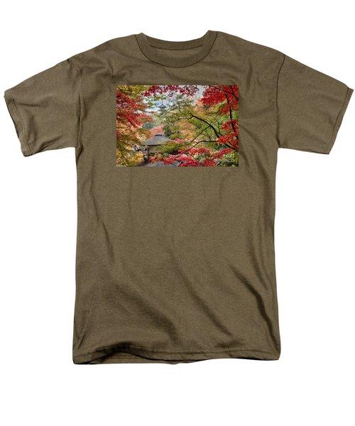 Autumn  Men's T-Shirt  (Regular Fit) by Tad Kanazaki