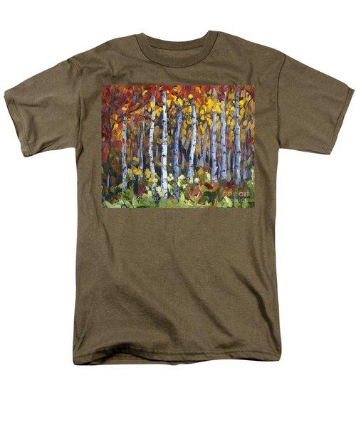 Autumn Trees Men's T-Shirt  (Regular Fit) by Jennifer Beaudet