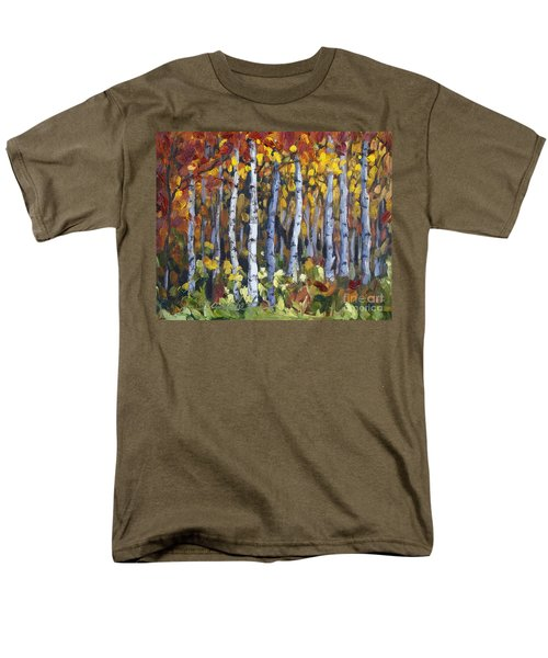 Autumn Trees Men's T-Shirt  (Regular Fit)