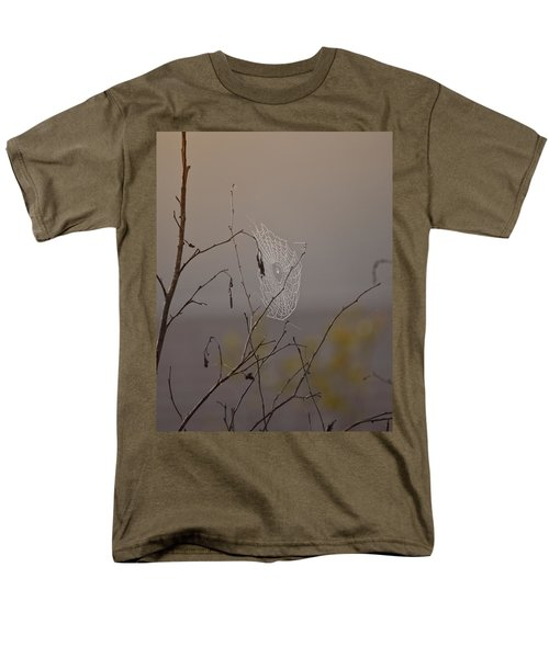 Autumns Web Men's T-Shirt  (Regular Fit) by Susan Capuano