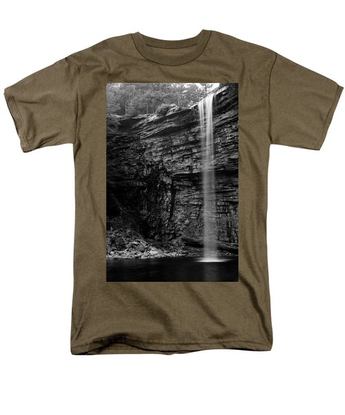 Awosting Falls In Spring #4 Men's T-Shirt  (Regular Fit) by Jeff Severson