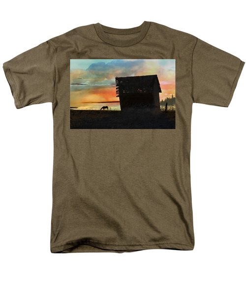 B. C. Barn # 1672 Men's T-Shirt  (Regular Fit) by Ed Hall