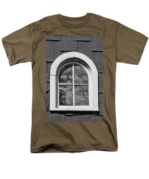 Men's T-Shirt  (Regular Fit) featuring the photograph Babcock Window 2273 by Guy Whiteley