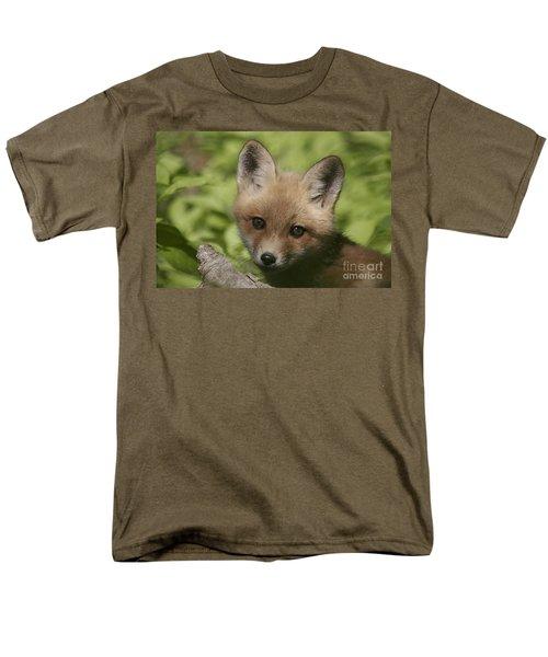 Baby Red Fox Men's T-Shirt  (Regular Fit) by Robert Pearson