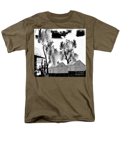 Backwoods Men's T-Shirt  (Regular Fit) by Belinda Threeths
