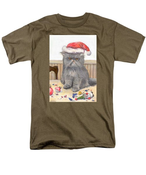 Bah Humbug Men's T-Shirt  (Regular Fit) by Donna Tucker