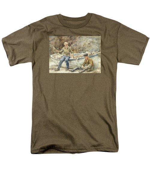 Bailing A Spiller Men's T-Shirt  (Regular Fit) by Henry Scott Tuke