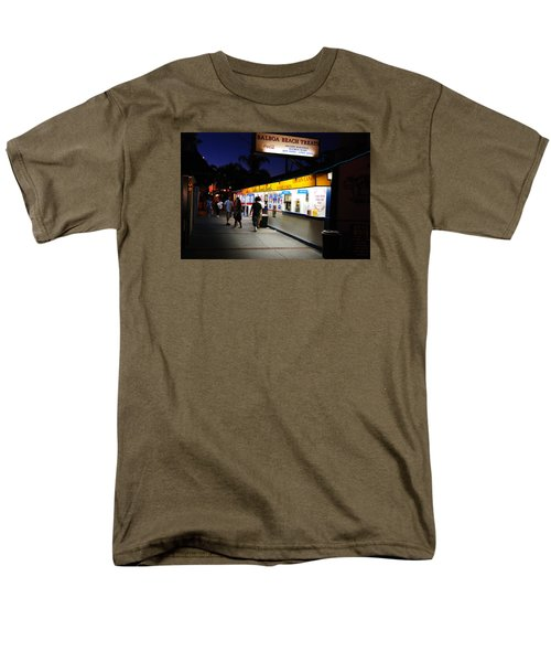 Men's T-Shirt  (Regular Fit) featuring the photograph Balboa Pier Nghts by James Kirkikis