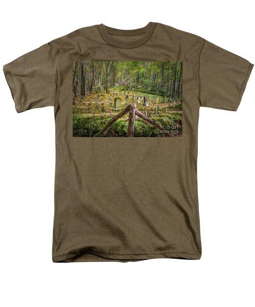 Bales Cemetery Men's T-Shirt  (Regular Fit) by Patrick Shupert