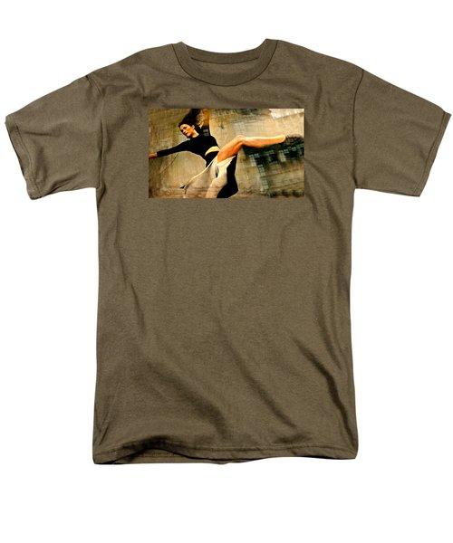 Ballet Windows Men's T-Shirt  (Regular Fit) by Diana Angstadt